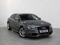 USED 2014 64 AUDI A5 2.0 SPORTBACK TDI QUATTRO S LINE S/S 5d AUTO 174 BHP Call us for Finance