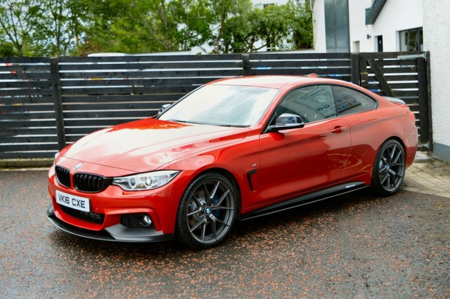 2016 16 BMW 4 SERIES 2.0 420D M SPORT 2d AUTO 188 BHP
