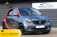 USED 2015 64 SMART FORFOUR 1.0 EDITION1 5d 71 BHP