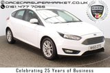 USED 2016 16 FORD FOCUS 1.5 ZETEC TDCI 5DR 1 OWNER 118 BHP FULL SERVICE HISTORY + PARKING SENSOR + BLUETOOTH + MULTI FUNCTION WHEEL + AIR CONDITIONING + DAB RADIO + ELECTRIC WINDOWS + RADIO/CD/AUX/USB + ELECTRIC MIRRORS + 16 INCH ALLOY WHEELS