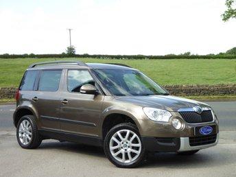 2012 SKODA YETI 2.0 ELEGANCE TDI CR 5d 109 BHP £8695.00