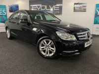 USED 2012 62 MERCEDES-BENZ C CLASS 2.1 C200 CDI BLUEEFFICIENCY EXECUTIVE SE 4d 135 BHP IMMACULATE, GREAT SPEC!!