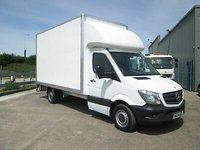 USED 2014 MERCEDES-BENZ SPRINTER 313 2.1 CDI LONG WHEEL BASE LUTON WITH TAIL LIFT