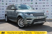 USED 2015 64 LAND ROVER RANGE ROVER SPORT 3.0 SDV6 HSE 5d AUTO 288 BHP LOW MILES, BIG SPEC, PAN ROOF