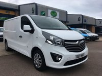 USED 2017 17 VAUXHALL VIVARO 1.6 2900 SPORTIVE L2H1 CDTI 1d 120 BHP EURO 6, A/C, B/TOOTH, TOP SPEC, FINANCE ARRANGED & 6 MONTHS WARRANTY. Recent full service history, Euro 6 (ULEZ Compliant) FSH, Only 39,000 Miles, A/C, E/W, cruise control, Bluetooth, media connectivity, DAB Radio, rear parking sensors, LED Headlights, Drivers airbag, Factory fitted bulk head, Side loading door, Very Good Condition, 1 Owner, remote Central Locking, Drivers Airbag, colour coded, FM Radio, Steering Column Radio Control, Side Loading Door, Barn Rear Doors & finance arranged