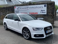 USED 2015 15 AUDI A4 2.0 AVANT TDI QUATTRO BLACK ED PLUS 5d AUTO 174 BHP CAR FINANCE AVAILABLE+SATELLITE NAVIGATION+AUTOMATIC+HALF LEATHER TRIM