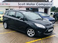 USED 2012 12 FORD GRAND C-MAX 1.6 Zetec 7 seats