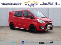 USED 2014 64 FORD TRANSIT CUSTOM 2.2 TDCI LIMITED 6 SEAT COMBI VAN 270  One Owner Service History A/C Buy Now, Pay Later Finance!