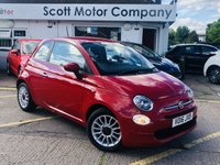 2016 FIAT 500 0.9 Pop Star Twinair Dualogic Automatic £6899.00