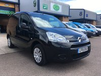 USED 2015 15 CITROEN BERLINGO 1.6 850 ENTERPRISE L1 HDI 1d 89 BHP **NO VAT**, FSH, A/C, BLUETOOTH, FINANCE ARRANGED & 6 MONTHS WARRANTY. **NO VAT** Full main dealer service history, A/C, E/W, Bluetooth, parking sensors, 3 seats, cruise control, satnav screen, Radio, driver's airbag, factory fitted bulk head, Side loading door, Ply-lined, Very Good Condition, 1 Owner, remote Central Locking, Drivers Airbag, CD Player/FM Radio, Steering Column Radio Control, Side Loading Door, Wood Lined, Barn Rear Doors, spare key, finance arranged on site & 6 months warranty