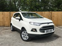 USED 2015 15 FORD ECOSPORT 1.0 ZETEC 5d 124 BHP Full Service History, Low Mileage
