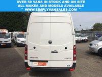 USED 2014 64 VOLKSWAGEN CRAFTER CR35 TDI 2.0 CR35 TDI 136BHP LWB 1 OWNER *FSH* LOW 50K MILES