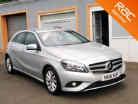 "USED 2014 14 MERCEDES-BENZ A CLASS 1.5 A180 CDI ECO SE 5d 109 BHP 16"" Alloys, 1/2 Leather, Bluetooth, Sat Nav Prep. CD Player"