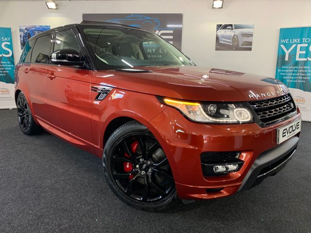 2014 14 LAND ROVER RANGE ROVER SPORT 3.0 SDV6 AUTOBIOGRAPHY DYNAMIC 5d AUTO 288 BHP