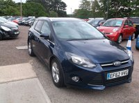 USED 2013 62 FORD FOCUS 1.6 ZETEC TDCI 5d 113 BHP Great Focus Estate With Tow Bar! Great Service History and Only 1 Previous Owner!