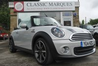 2014 MINI CONVERTIBLE 1.6 ONE HIGHGATE 2d 98 BHP £9400.00