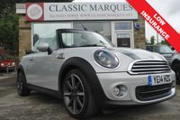 USED 2014 14 MINI CONVERTIBLE 1.6 ONE HIGHGATE 2d 98 BHP
