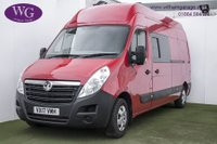 USED 2017 17 VAUXHALL MOVANO 2.3 L3H3 F3500 P/V 1d 144 BHP