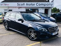 2015 MERCEDES-BENZ E CLASS 2.1 E300 BlueTec Hybrid AMG Night Ed Premium Estate Automatic £15999.00