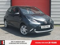 USED 2016 16 TOYOTA AYGO 1.0 VVT-I X-PRESSION 3d 69 BHP Sports Seats and Tinted Glass
