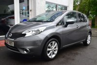USED 2015 65 NISSAN NOTE 1.2 ACENTA DIG-S 5d AUTO 98 BHP LOVELY NISSAN NOTE AUTOMATIC IN GREY