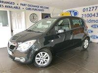 2012 VAUXHALL AGILA 1.2 SE 5d 93 BHP £3995.00