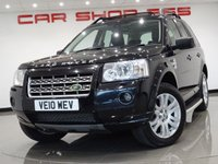 2010 LAND ROVER FREELANDER 2 2.2 TD4 (158 bhp) HSE 5dr AUTO..PAN ROOF..VERY HIGH SPEC !! £4490.00