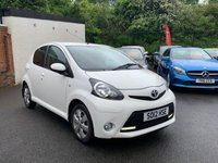 USED 2012 12 TOYOTA AYGO 1.0 VVT-I FIRE 5d 67 BHP LOW MILEAGE+FINANCE AVAILABLE+LOW INSURANCE COSTS