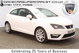 USED 2013 63 SEAT IBIZA 1.2 TSI FR 3DR 104 BHP FULL SERVICE HISTORY + £30 12 MONTHS ROAD TAX + CRUISE CONTROL + AIR CONDITIONING + RADIO/CD/AUX + ELECTRIC WINDOWS + ELECTRIC MIRRORS + 17 INCH ALLOY WHEELS