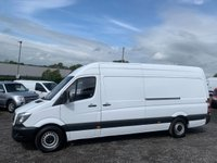 USED 2016 16 MERCEDES-BENZ SPRINTER 2.1 313 CDI LWB FACELIFT HIGH ROOF LWB, FACELIFT, ONE OWNER FROM NEW, FULL DEALER HISTORY,