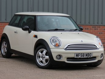 2008 MINI HATCH ONE 1.4 ONE 3d 94 BHP £SOLD