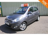 USED 2011 11 HYUNDAI I10 1.2 ACTIVE 5d 85 BHP FINANCE FROM £0 DEPOSIT - £20 ROAD TAX