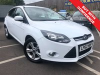 USED 2013 62 FORD FOCUS 1.6 ZETEC 5d AUTO 124 BHP ONE OWNER + VERY LOW MILEAGE