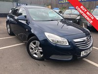 USED 2010 60 VAUXHALL INSIGNIA 2.0 EXCLUSIV CDTI 5d AUTO 128 BHP ONE OWNER + VERY LOW MILEAGE 19,000 FROM NEW