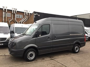 2015 VOLKSWAGEN CRAFTER 2.0TDI CR35 MWB HIGH ROOF 136BHP. LOW 33K MILES. AC. BIG SPEC £13990.00