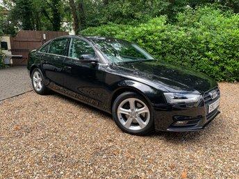 2012 AUDI A4 1.8 TFSI SE S/S 4d 168 BHP £8489.00