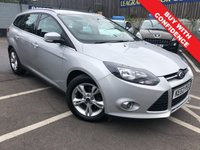 USED 2013 62 FORD FOCUS 1.6 ZETEC 5d AUTO 124 BHP AUTOMATIC + FULL SERVICE HISTORY
