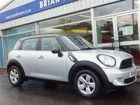 USED 2016 16 MINI COUNTRYMAN 1.6 COOPER 5dr (122bhp) .........ONE PRIVATE OWNER. FULL BMW/MINI SERVICE HISTORY. LIKE NEW.