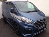 USED 2019 19 FORD TRANSIT CUSTOM 2.0 300 LIMITED 6 SEATER DOUBLE CAB L1 H1 1d 170 BHP - MOTION R STAGE 3