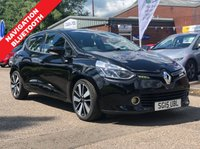 USED 2015 15 RENAULT CLIO 1.5 DYNAMIQUE S MEDIANAV DCI 5d AUTO 90 BHP MOT APRIL 2020 *  1 OWNER FROM NEW *  NAVIGATION SYSTEM *  BLUETOOTH *  PARKING AID *