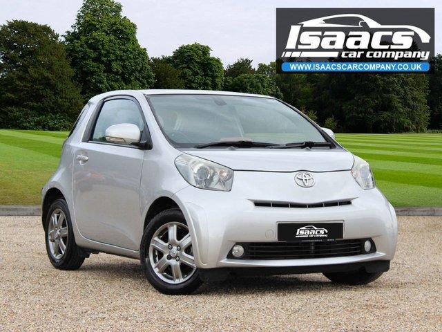 2011 61 TOYOTA IQ 1.0 VVT-I IQ2 3d AUTO 68 BHP