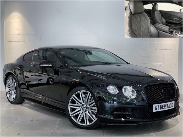 2013 13 BENTLEY CONTINENTAL 6.0 GT SPEED [MDS][CARBON PACK]616 BHP