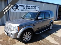 USED 2012 61 LAND ROVER DISCOVERY 3.0 4 SDV6 HSE 5d AUTO 255 BHP + 7 SEATS + PAN ROOF + LEATHER + NAV + HUGE SPEC