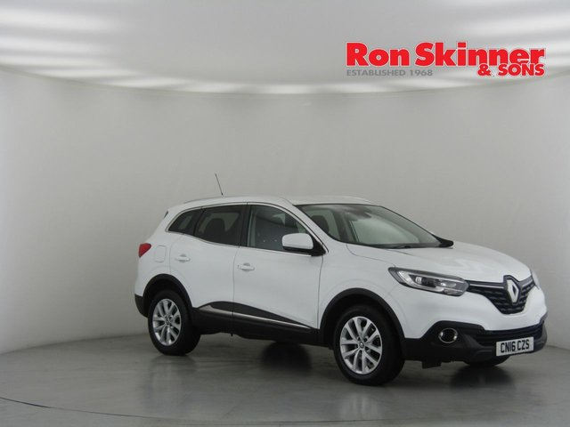 View our 2016 16 RENAULT KADJAR 1.5 DYNAMIQUE NAV DCI 5d 110 BHP