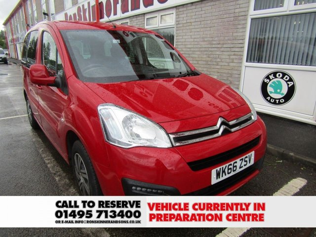View our 2017 66 CITROEN BERLINGO MULTISPACE 1.6 BLUEHDI EDITION ETG6 5d AUTO 98 BHP