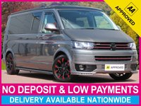 USED 2015 15 VOLKSWAGEN TRANSPORTER 2.0 TDI HIGHLINE LWB T30 CAMPER POP TOP 140 BHP LONG WHEEL BASE GTI STYLING POP TOP ROOF SINK OVEN