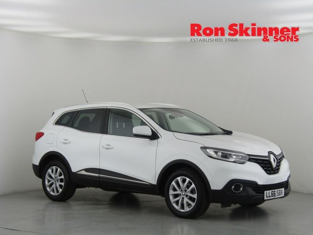 View our 2016 66 RENAULT KADJAR 1.2 DYNAMIQUE NAV TCE 5d 130 BHP