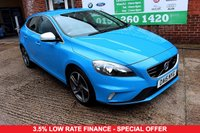 USED 2015 15 VOLVO V40 1.6 T2 R-DESIGN 5d 118 BHP ONE OWNER +SERVICED +LOW MILES