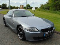 USED 2007 07 BMW Z4 3.0 Z4 SI SPORT COUPE 2d 262 BHP RED LEATHER, SAT NAV, 108 ALLOYS
