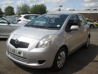 USED 2006 06 TOYOTA YARIS 1.3 T3 VVT-I MM 5d AUTO 86 BHP CD - RADIO - MP3 - AUTOMATIC GEARBOX